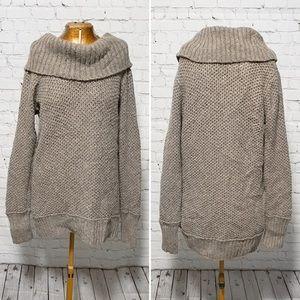 Caslon Convertible Cowl Neck Sweater